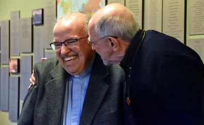 Fr. Yvon and Fr. Bob