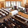 The chapel was filled for the Mass