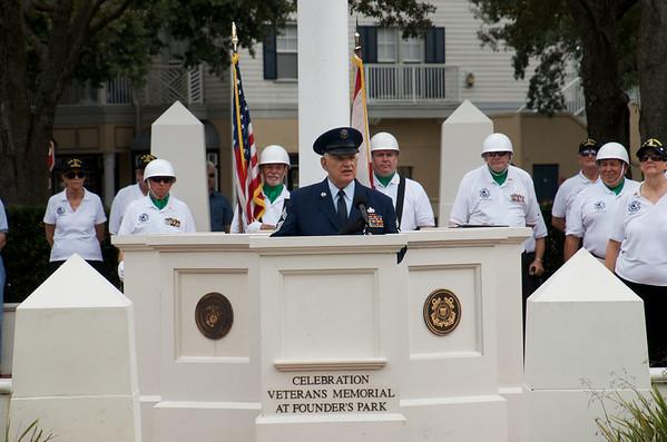 2017 Veterans Day Ceremony in Celebration, FL