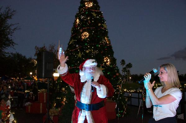 Celebration Town Christmas Tree Lighting 2015