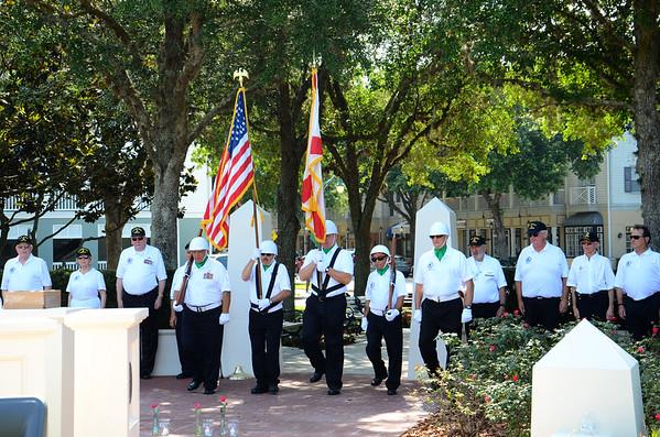 Memorial Day Ceremony 2015 Celebration, FL