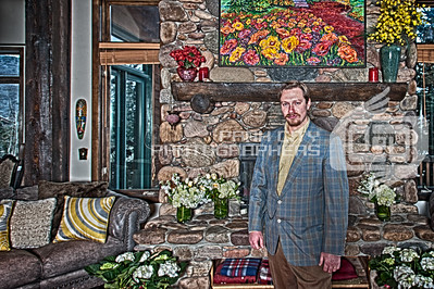 HDR image of the groom.