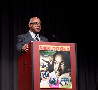 _Chairman John E. Jones closes the 2013 Martin Luther King Jr. observance