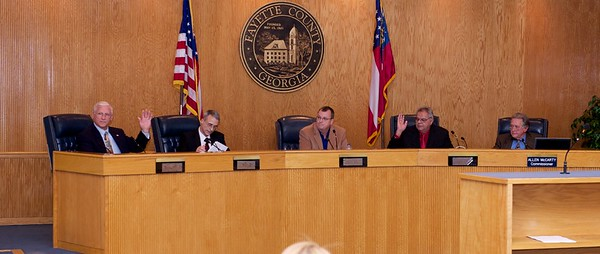Commissioners elect Steve Brown as Chairman