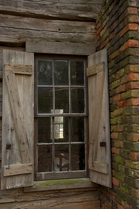 A view into the 1830s pioneer cabin
