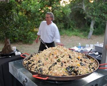 Paella main course