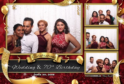 Celebrations: Wedding & 70th Birthday - 06-30-2018