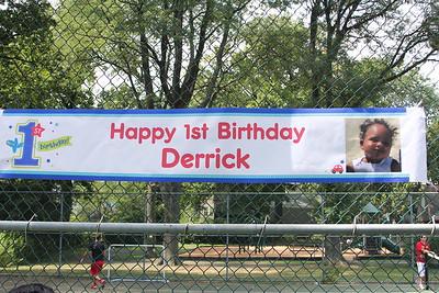 Derrick's 1st Birthday Celebratiion