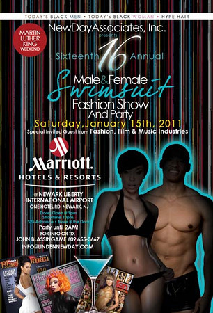 16th Annual Male & Female Swimsuit Fashion Show