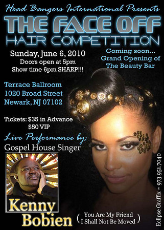 The Face Off Hair Competition: Event Photos