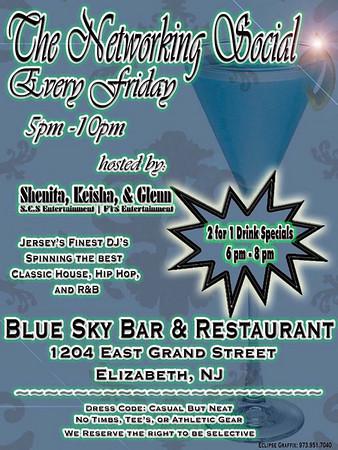 The Networking Social @ Blue Sky Bar & Restaurant - Elizabeth, NJ_5-8-09