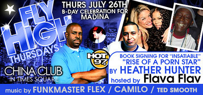July 26, 2007 - Fly High Thursdays @ The China Club in Times Square