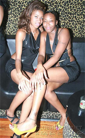 October 9, 2009 - Team Make Em Believe's All Black Affair @ El Morroco