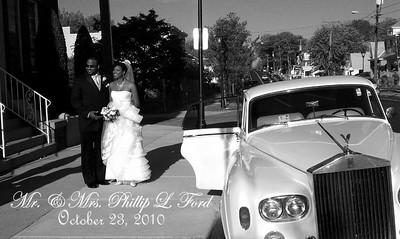 Phil Ford & Jessica Pankey Wedding & Reception: October 23, 2010