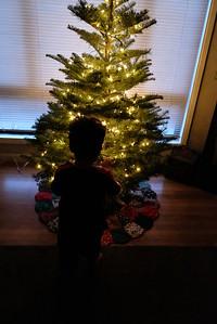 Christmas on.