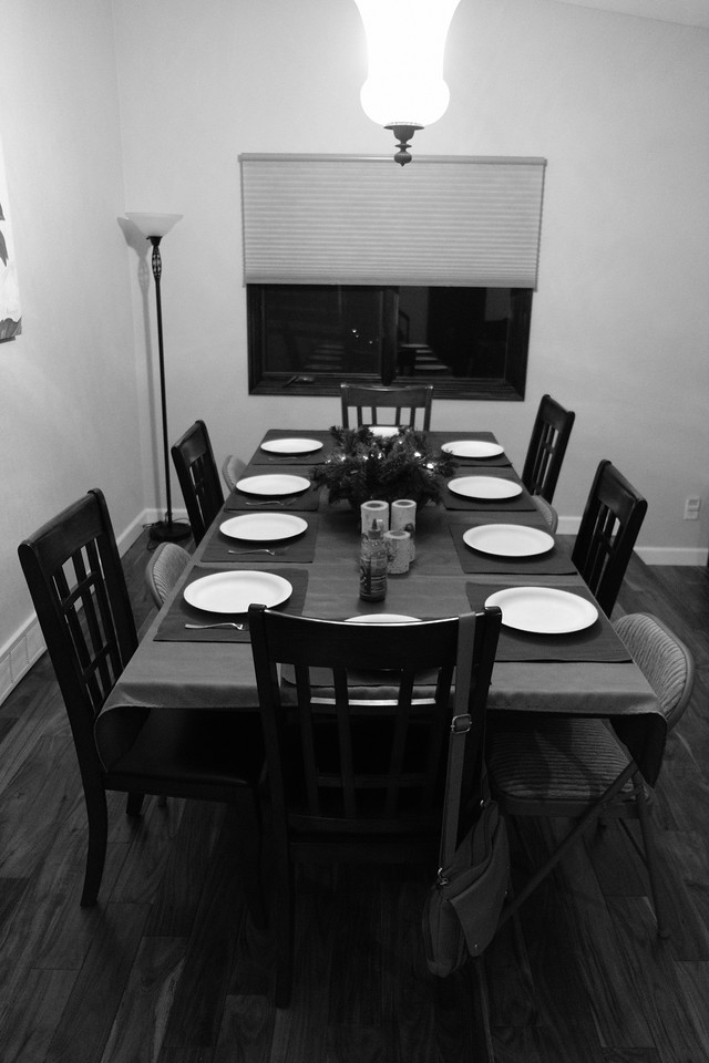 Table set by Jess and Charlie