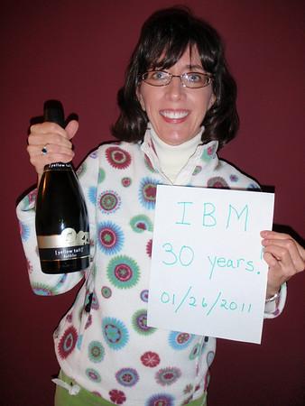 Jenny's 30 years at IBM - 01/26/11