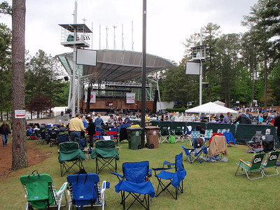 Koka Booth Amphitheater before the concert started.