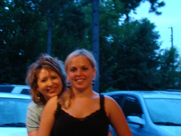 Dani and her very young Nannie