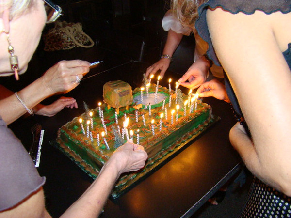 Better to light (50!!) candles than to curse the darkness!!