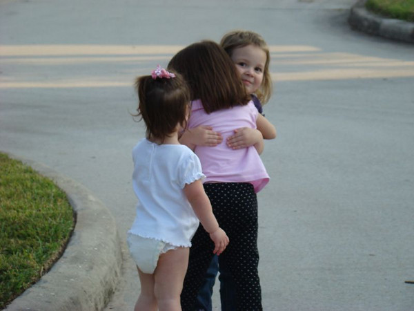 I think I cried when I took this...  it's SO sweet!