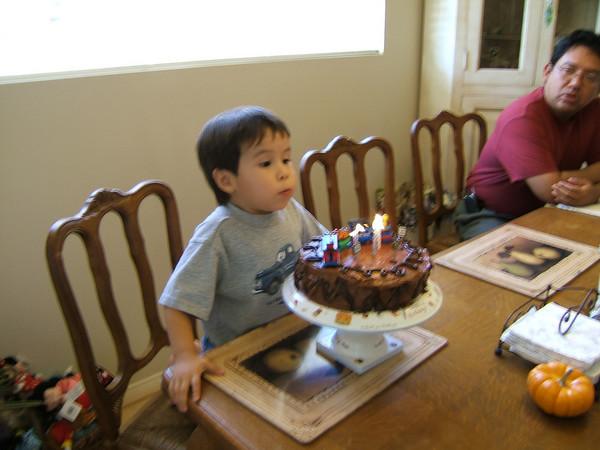 2004 10 29 Jack's 3rd Birthday