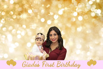 Giada's 1st Birthday