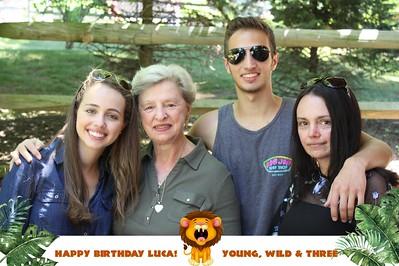 Lucas Third Birthday