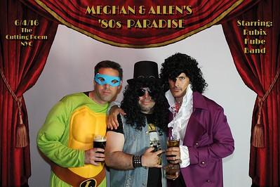 Meghan & Allen's '80s Paradise