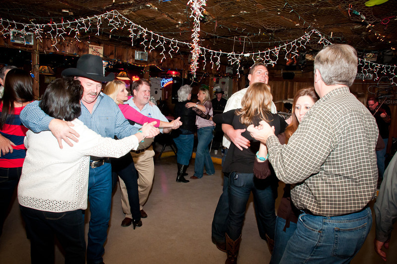 Lots of dancing at Wisnoski party.