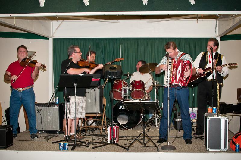 Brian Marshall and the Texas Slavic Playboys at the Dozynki dance.