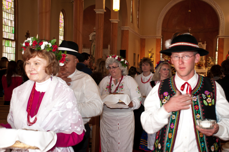Polish Heritage Dozynki Thanksgiving Mass In Chappell Hill Texas