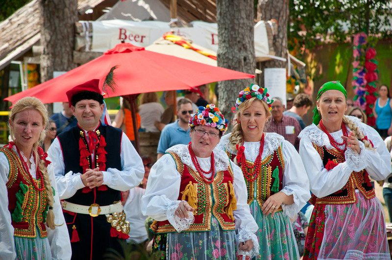 2012 Sixth Annual Polish Festival In Houston Texas