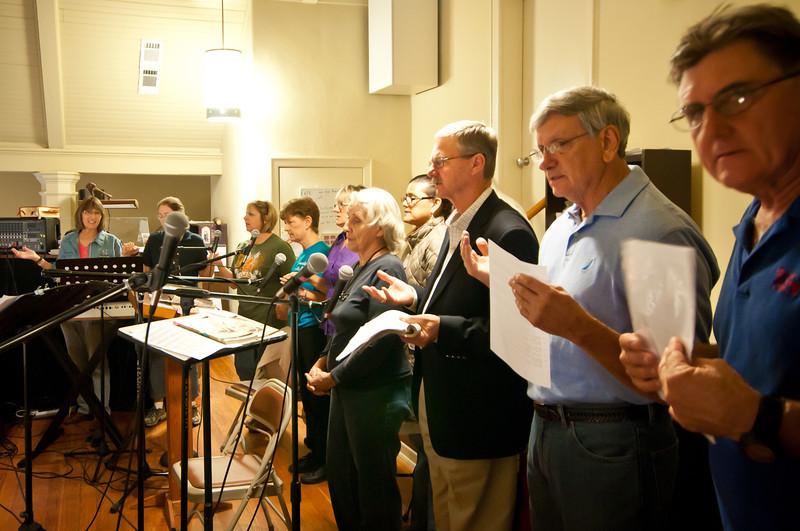 St. Stanislaus choir singing bądźże pozdrowiona in Polish