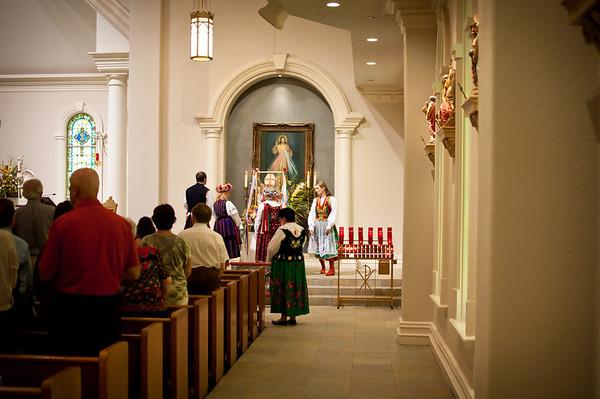 2011 Dozynki Mass In Houston