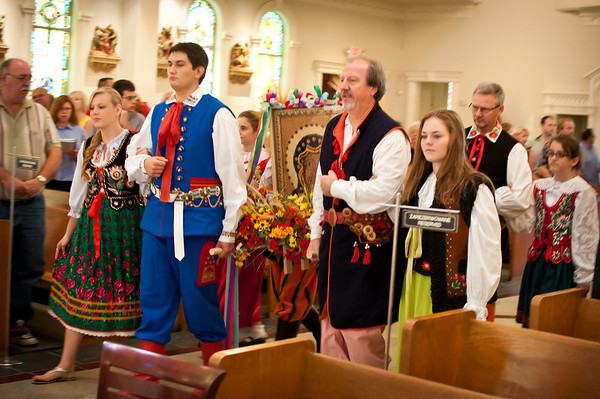 2011 Dozynki Mass In Houston