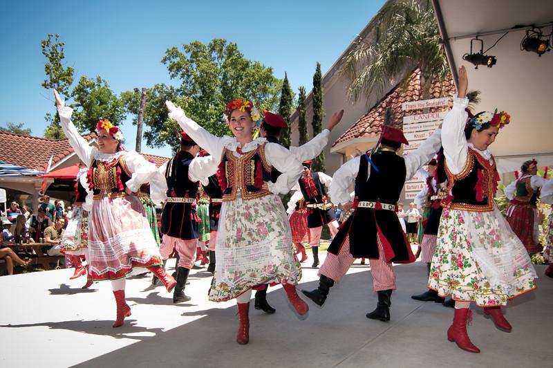 Polish Folk Dance Group Wawel From Houston Texas