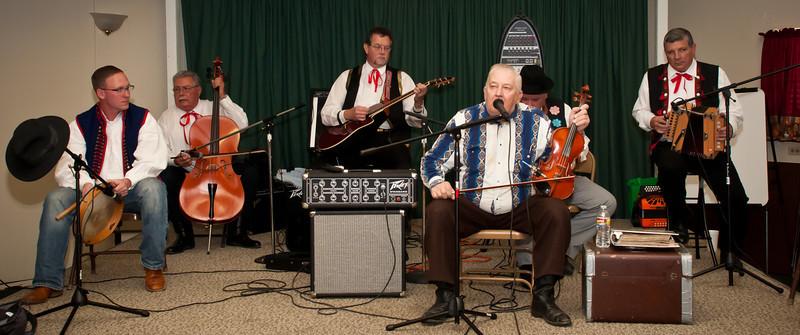 Daniel Cendalski and the Polska Kapela band