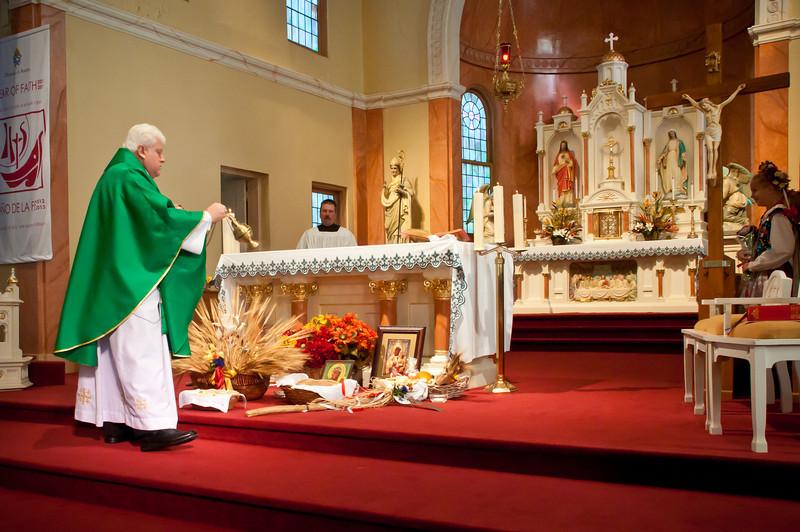 Dozynki Mass with Father Jozef Musiol