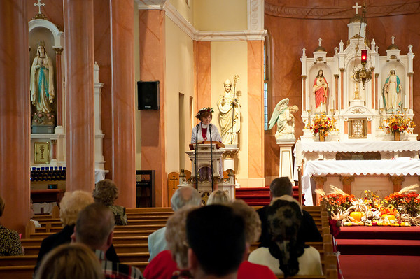 St. Stanislaus Thanksgiving Dozynki Mass