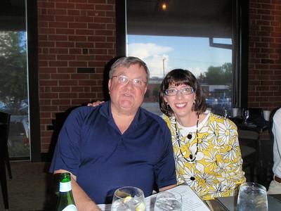 Jenny and dear friend Bob (fellow NCSU grad and former IBM Business Process Leader)