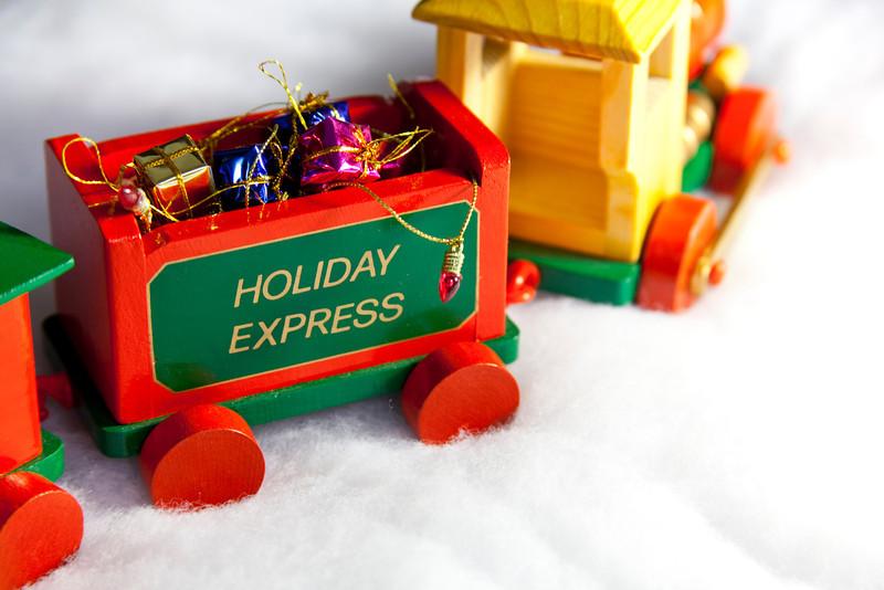 Choo chooo! Here comes the Holiday Express Christmas Train!