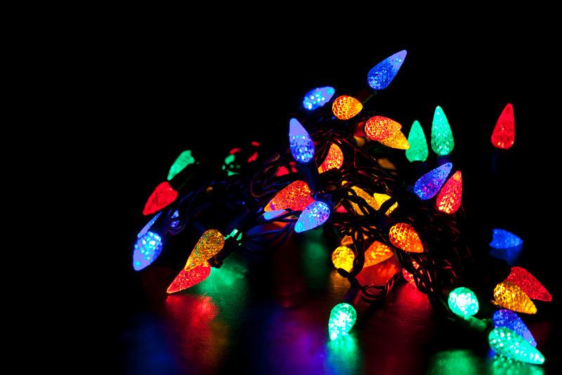 Glowing Holiday Lights
