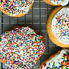 Cookies with sprinkles!