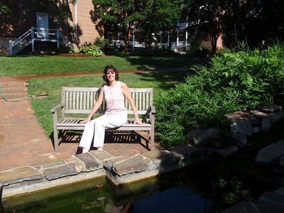 Jenny at the Lily Pond