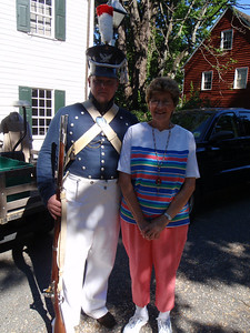 Mom with militia man