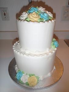 Wendy's anniversary cake (celebrating 11th year)