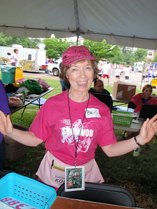 Bev is the committee chair for Race for the Cure registration and we work with her every year.