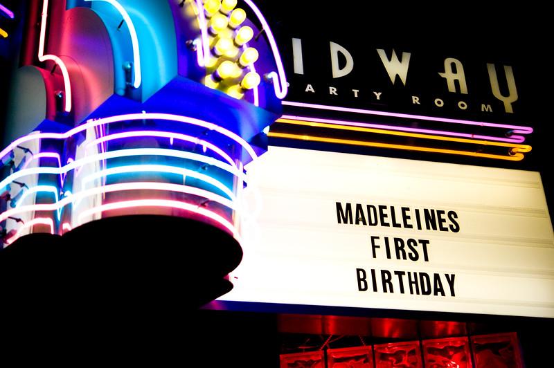 Madeleine's 1st Birthday
