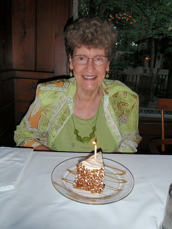 Mom's 77th Birthday - 2010